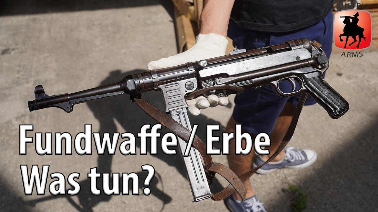 Waffen erben, Waffen finden – Was ist zu tun?